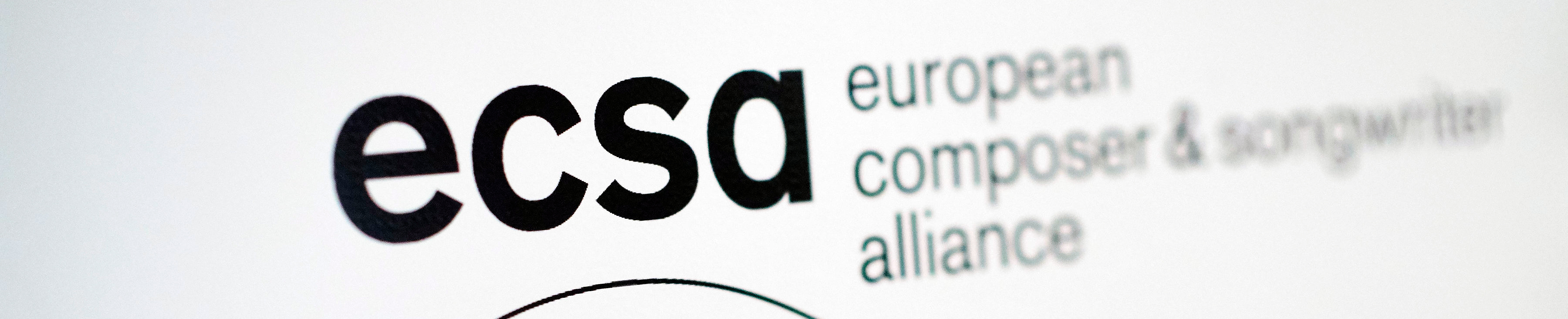 ecsa - European composer and songwriter alliance logo