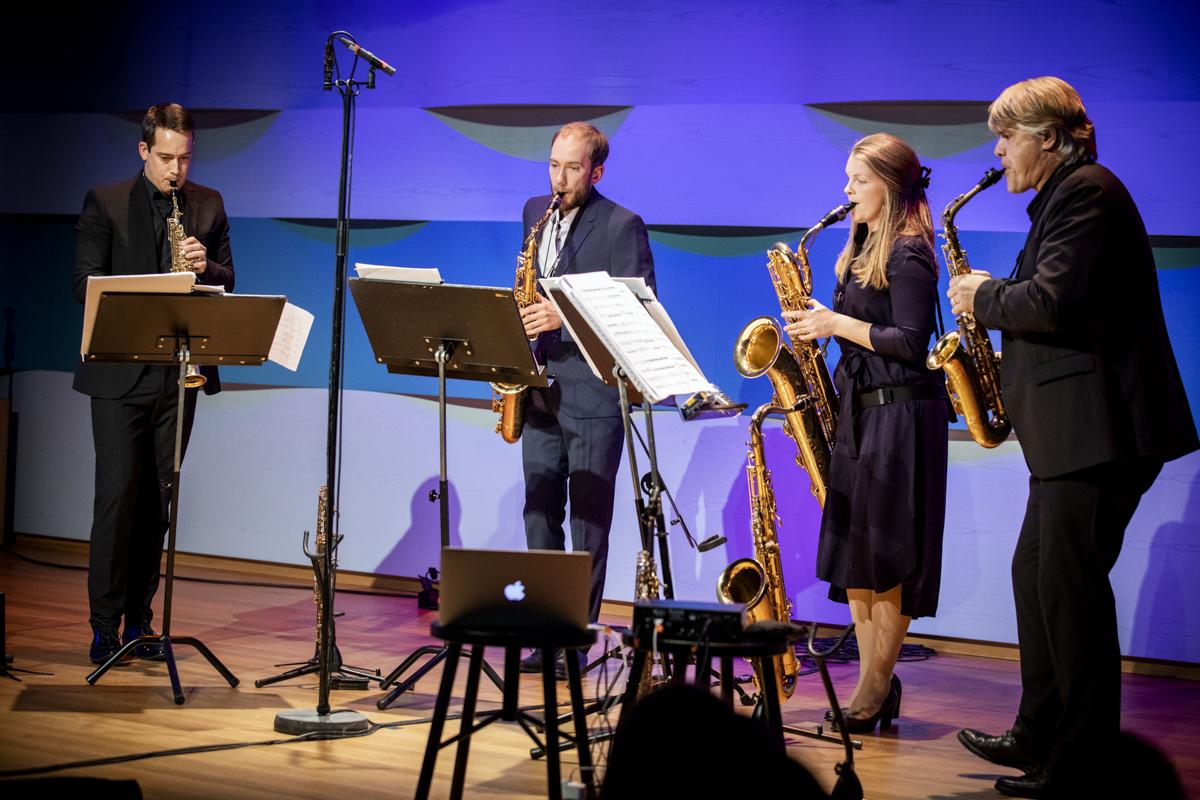 Konsert på Musikhögskolan i Stokholm 8/10.